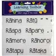 Learning Toolbox Magnets / Te Reo Maori Days of the Week