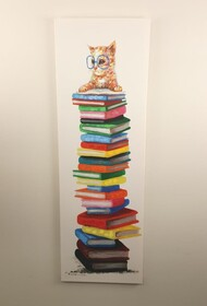 Canvas Wall Art - Bookworm