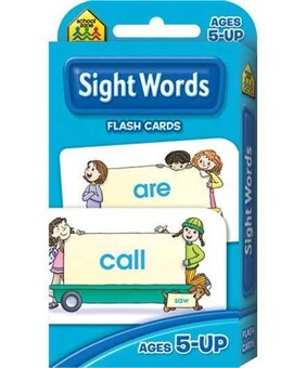 School Zone Flash Cards - Sight Words