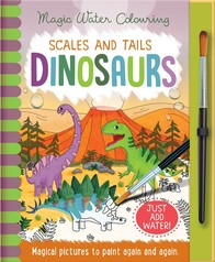 Magic Water Colours - Scales & Tails Dinosaurs