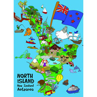 What Makes NZ Puzzle / North Island