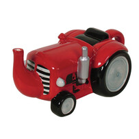 Tractor Teapot - Red