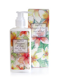 Banks & Co / Hand Cream and Body Lotion - Frangipani & Lime