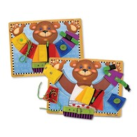 Melissa & Doug - Basic Skills Wooden Board