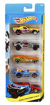 Hot Wheels 5pc Car Set