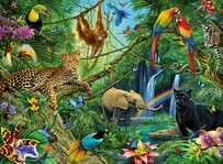 Ravensburger - Animals in the Jungle