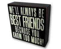 Plaque - We'll Always Be Best Friends