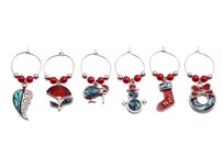 Wine Charms - Kiwiana Christmas