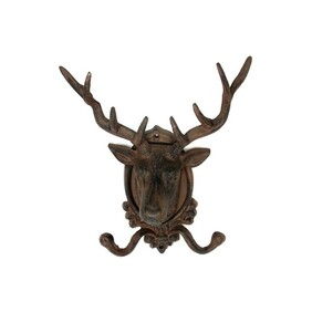Coat Hook - Large Stag