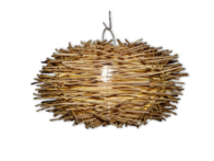 Rattan Lamp Shade 60cm - Natural