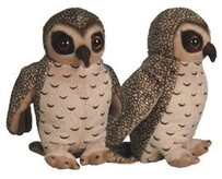 Sounds of New Zealand - Soft Toys - Ruru (Morepork)