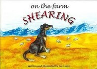On the Farm Shearing by Lee Lamb
