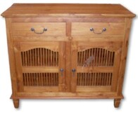 2 Door 2 Drawer Teak Buffet