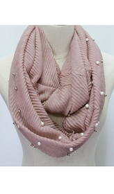 Scarf - Snood Crinkle and Pearl