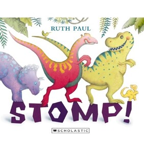 Stomp - Dinosaur Book