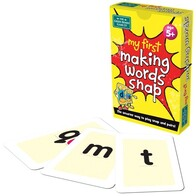 My First Card Game - Making Words Snap