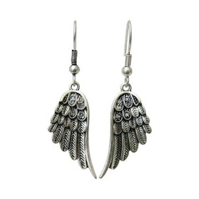 Earrings - Antique Angel Wings