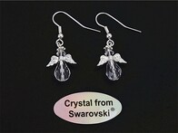 Earrings - Crystal Angels
