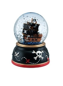 Pirate Snow Globe