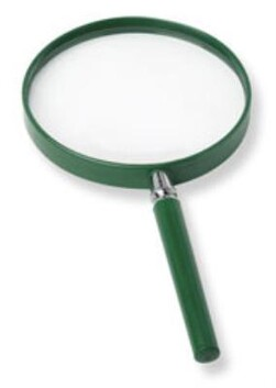 Big eye - magnifying glass