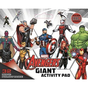 Giant Activity Pad - Avengers