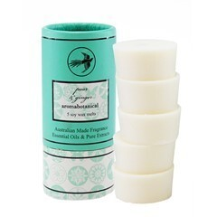 Aromabotanical Soy Wax Melts 5pk tube / Pear and Ginger