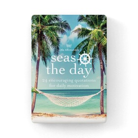 Affirmation Boxed Cards - Seas the Day