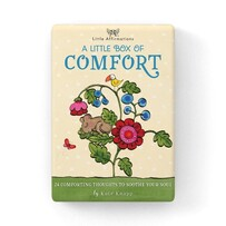 Affirmations Boxed Cards - Comfort