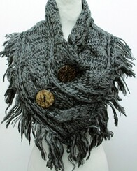 Scarf - Large Button