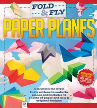 Fold and Fly Paper Planes Binder