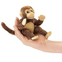 Folkmanis Finger Puppet / Monkey (mini)