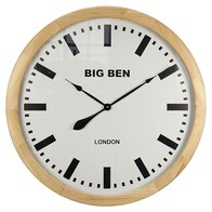 Clock - Wooden Big Ben