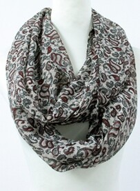 Scarves - Paisley Snood