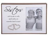 Photo Frame - Love Lines - Sisters
