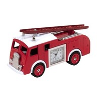 Fire Engine Clock