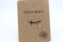 Necklace - Petite Beau Cross