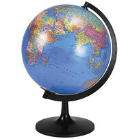 World Globe with Sturdy Stand 28cm
