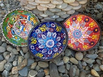 Hand Painted Ceramic Turkish Bowls - 12cm