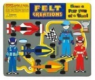 Felt Creations - Race Car