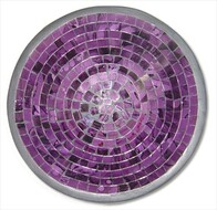 Mosaic Bowl - Purple