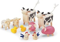 Pintoy Wooden Farm Animals
