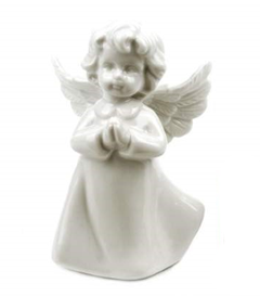 White Ceramic Angel