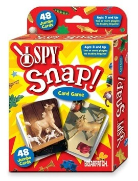 I Spy Card Game / Snap