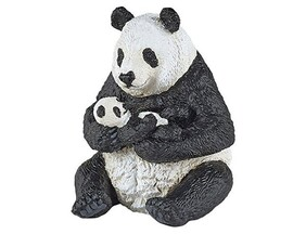 Papo Collection - Animals - Sitting Panda & Baby