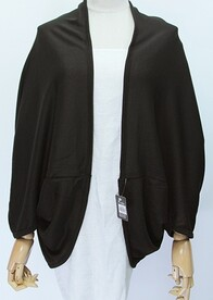 Cape - Black Long Sleeve