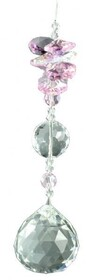 Ball 30 Suncatcher Pink Crystal