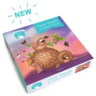 Kuwi the Kiwi Floor Puzzle