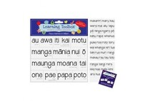 Learning Toolbox Magnets / Te Reo Maori Place Name