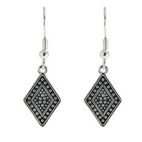 Earrings - Art Deco Black Diamond
