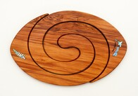 Rimu 2 in 1 Table Mat - Rugby Ball